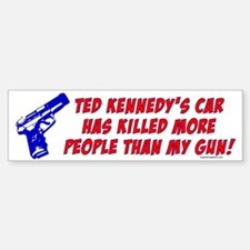 Ted Kennedy's Car Bumper Bumper Bumper Sticker