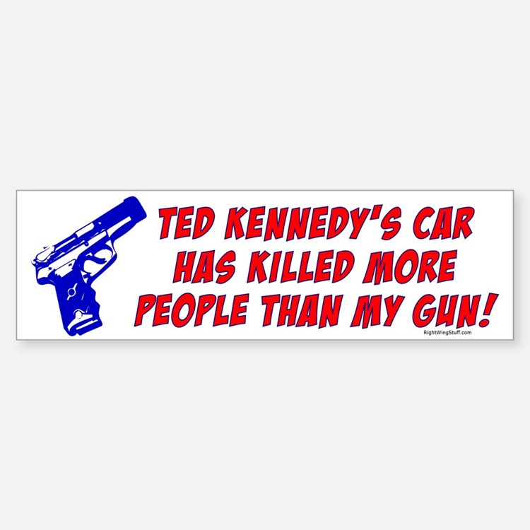 Ted Kennedy's Car Bumper Bumper Bumper Sticker