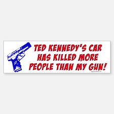 Ted Kennedy's Car Bumper Bumper Stickers