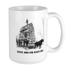 Manly Jobs for Manly Men Mug