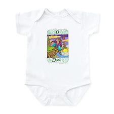 Cute Tarot fool Infant Bodysuit