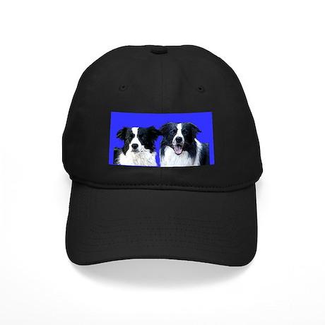 Border Collie Head Studies Black Cap