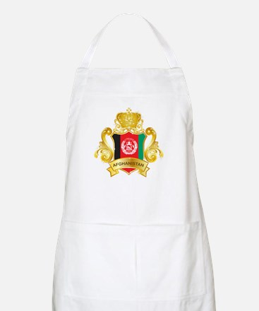 Gold Afghanistan Apron