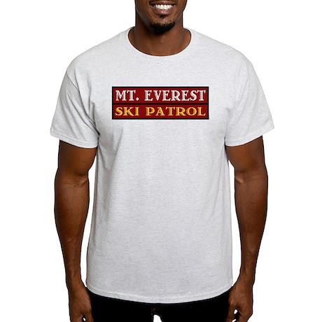 Mt. Everest Ski Patrol Ash Grey T-Shirt