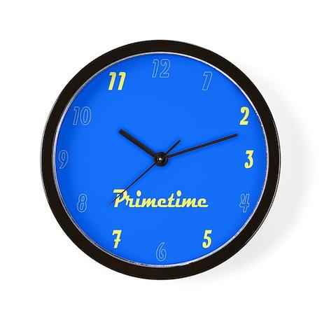 Primetime Wall Clock