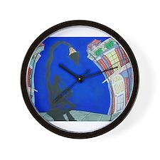 Unique Post Wall Clock