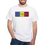 Romanian Air Command White T-Shirt