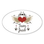 Team Jacob Sticker (Oval 50 pk)