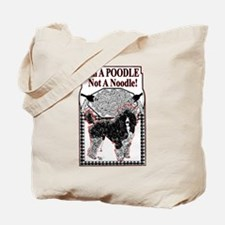 Cute Parti poodle Tote Bag