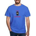 Ninja Bartender Plain Dark T-Shirt
