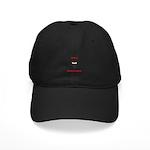 Ninja Bartender Plain Black Cap