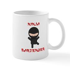 Ninja Bartender Plain Mug