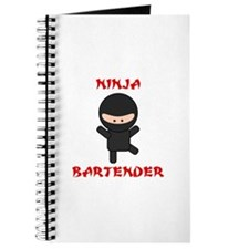 Ninja Bartender Plain Journal