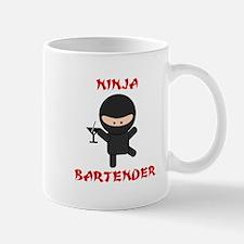 Ninja Bartender with Martini Mug