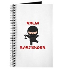 Ninja Bartender with Martini Journal