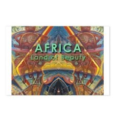 Africa.3 Land of Beauty Postcards (Package of 8)