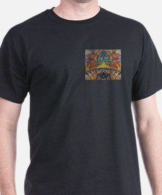 Africa.3 Land of Beauty Black T-Shirt