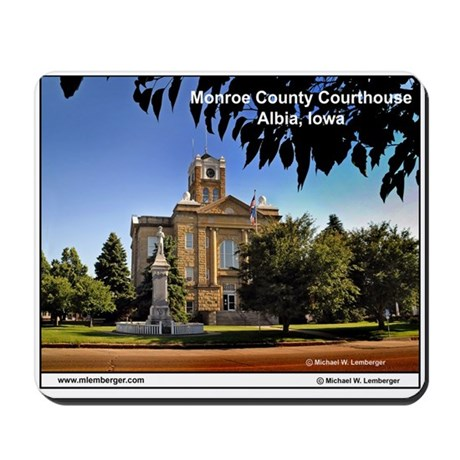 Monroe County Courthouse, Iowa, Albia, ousepad