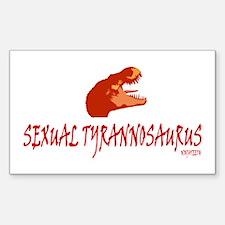 NinjaTeeth Sexual TRex Decal