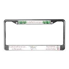 Mid-Atlantic Campers License Plate Frame