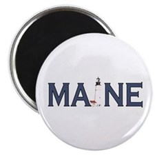 Maine Lighthouse Magnet