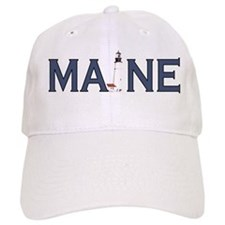 Maine Lighthouse Baseball Cap