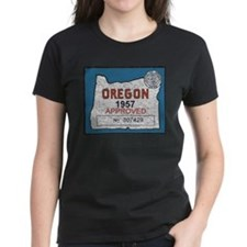 Vintage Oregon Registration Tee