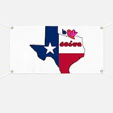 ILY Texas Banner