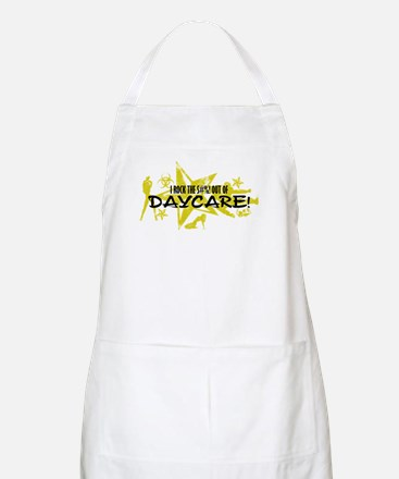 I ROCK THE S#%! - DAYCARE Apron