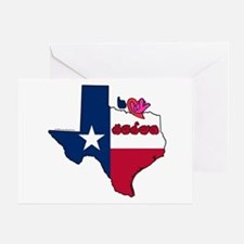 ILY Texas Greeting Card