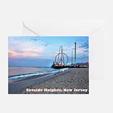 Seaside Heights Greeting Card