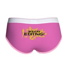I ROCK THE S#%! - EDITING Women's Boy Brief