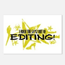 I ROCK THE S#%! - EDITING Postcards (Package of 8)