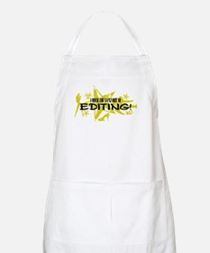 I ROCK THE S#%! - EDITING Apron
