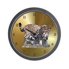 Jaguar Wall Clock