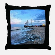 Unique Seaside heights nj Throw Pillow