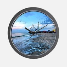 Cute Seaside heights Wall Clock