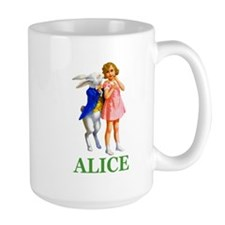 ALICE & THE WHITE RABBIT Mug