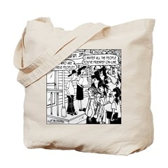 All the people you've friended Tote Bag