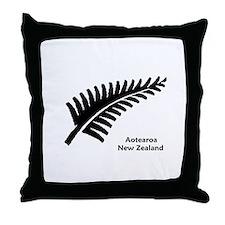 New Zealand (Fern) Throw Pillow