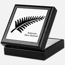 New Zealand (Fern) Keepsake Box