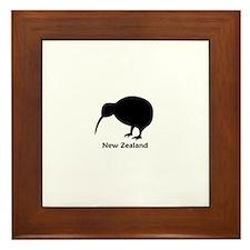 New Zealand (Kiwi) Framed Tile