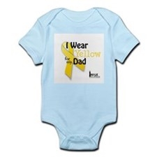 Yellow for Dad Infant Bodysuit