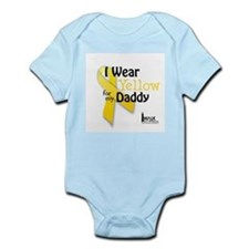 Yellow for Daddy Infant Bodysuit
