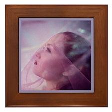 Migraine Aura Framed Tile