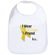 Yellow for Friend Bib