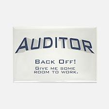 Auditor - Work Rectangle Magnet (100 pack)