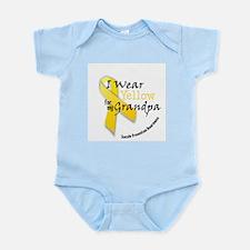 Yellow for Grandpa Infant Bodysuit