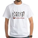 Silence of the Limbs White T-Shirt