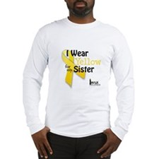 Yellow for Sister Long Sleeve T-Shirt